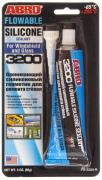 "Герметик проникающий силикон для ремонта стекол 85 г (FS-3200) ""ABRO"""