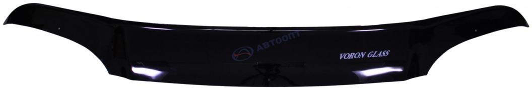 Дефлектор капота ВАЗ-2123 ШЕВИ-НИВА (мухобойка) VORON GLASS еврокрепеж