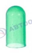 Колпачок резиновый зеленый на лампу Т4 с усами