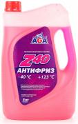 Антифриз AGA Z40 AGA002Z (красный) G12 5кг