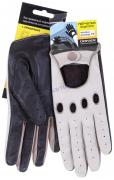 Перчатки водителя женские, овчина DR510-19