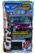 Салфетка-Авто Микрофибра (123) (12шт)