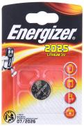Батарейка Energizer Miniatures Lithium CR2025  FSB1 (блистер 1шт)