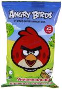 Салфетки влажные универсальные Angry Birds №20