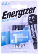 Батарейка Energizer MAX Plus Е91/ AA(пальчиковые) BР2 (блистер 2шт)