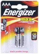 Батарейка Energizer MAX Е92/ AAA (мизинч) BР2 (блистер 2шт) (Швейцария)