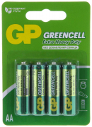 Батарейка GP R6 GREEN CELL 15G-BS4 (блистер 4 шт.)