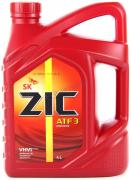 Масло трансмиссионное ZIC ATF 3 полусинтетическое 4л