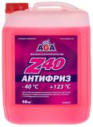 Антифриз AGA Z40 AGA003Z (красный) G12 10кг
