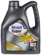 Масло моторное Mobil Super 3000 X1 5W40 [SM/CF] синтетическое 4л