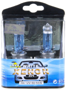 "Лампа H4 12V 60/55W P43t WHITE PLASMA XENON ""Луч"""
