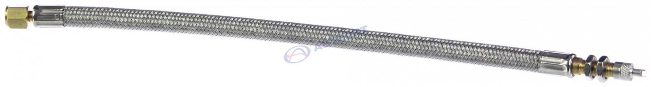 Удлинитель вентиля шин КАМАЗ (300мм) бронированный, без кронштейна
