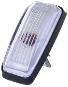 Повторитель поворотов ВАЗ-2108 белый (20,3726-02) патрон/лампа