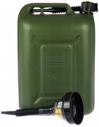"Канистра ГСМ Профи green (зеленая)  25л. ""Oktan"" + Воронка ГСМ 135 мм"