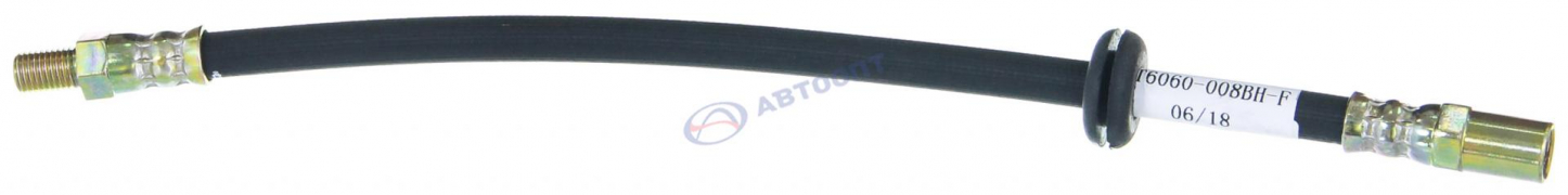 Шланг тормозной ВАЗ-2108 передний (2108-3506060) АТ 6060-008 BH-F (г.Миасс)
