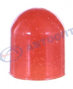 Колпачок резиновый красный на лампу Т10  5W б/ц
