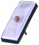 Повторитель поворотов ВАЗ-2103, 2106 прозрачный (2121-3726087) патрон/лампа