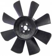Крыльчатка вентилятора радиатора Газель 8-ми лопостная (3302-1308010) (г.Н.Новгород)