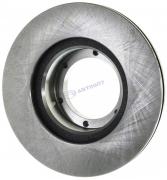 """Диск тормозной передний Газель (104 мм) нового образца 3102.2 (3302-3501077) """"Сибдеталь"""""""