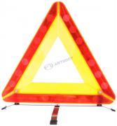 Аварийный знак DA-02155 БОЛЬШОЙ, широкий (с отраж. на металл. подстав.) в пенале  (Китай)