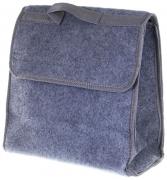 Органайзер в багажник войлочный iOG-30G серый 30x30x15 (см) iSky