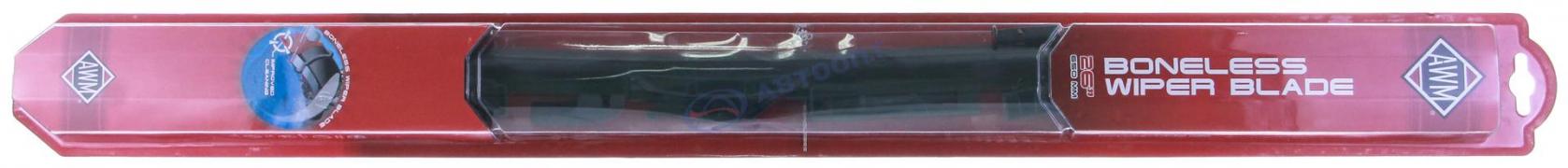 """Щетка стеклоочистителя AWM Boneless [650мм/26""""] бескаркасная всесезонная (B26)"""
