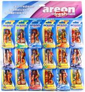 Ароматизатор Areon гелевый HARD WOMEN (SEXY FRESH) (18 шт лист) (704-125)
