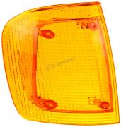 Стекло указателя поворота правого Волга желтое(112.06.46.00.001-01) 3512