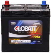 Аккумулятор Globatt 65Ач [Азиатский/Прямая полярность] 600A