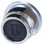 Колпачок ступицы ВАЗ-2107 хром (2107-3101012)