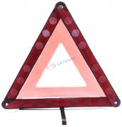 Аварийный знак DA-02154 СРЕДНИЙ металл. (с отраж. на металл. подставке) в пенале  (Китай)