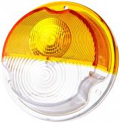 Стекло указателя поворотов УАЗ, ГАЗ,ЗИЛ (подфарника) (ПФ 130) (желтое)