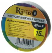 """Изолента 15мм*15м черная """"Rollix.Vivent"""""""