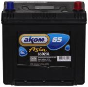 Аккумулятор АКОМ 65Ач [Азиатский/Обратная полярность] 520A
