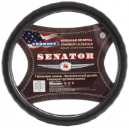 """Оплетка Senator Vermont """"XL"""" (42см) черный, кожаная (OPLS0713)"""