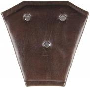 Корректор ремня безопасности кожа (коричневый)
