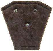 Корректор ремня безопасности велюр (коричневый)
