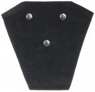 Корректор ремня безопасности велюр (черный)
