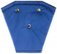 Корректор ремня безопасности велюр (синий)