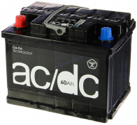 Аккумулятор AC/DC 60Ач [Европейский/Прямая полярность] 450A