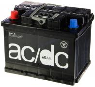 Аккумулятор AC/DC 60Ач [Европейский/Прямая полярность] 500A