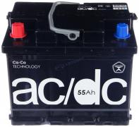Аккумулятор AC/DC 55Ач [Европейский/Прямая полярность] 420A