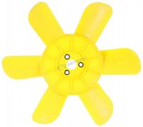 Крыльчатка вентилятора радиатора 6-ти лопастная ВАЗ-2121 желтая (завод) (2121-1308008) (г.Тольятти)