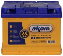Аккумулятор АКОМ EFB 65Ач [Европейский/Обратная полярность] 600A