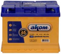 Аккумулятор АКОМ EFB 65Ач [Европейский/Прямая полярность] 600A