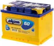 Аккумулятор АКОМ 60Ач [Европейский/Обратная полярность] 520A