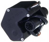Кран отопителя электрический Газель, Соболь (2 выхода) (РКНУ.8109030)