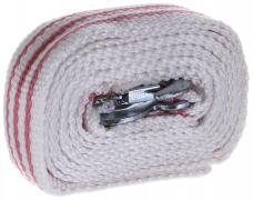 Трос буксировочный 10т ленточный 5м (крюки)