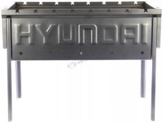 """Мангал разборный логотип """"HYUNDAI"""""""