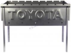 """Мангал разборный логотип """"TOYOTA"""""""
